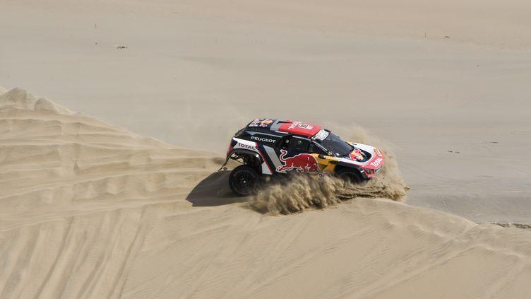 Cyril Despres (Peugeot) (ERIC VARGIOLU / E.V.A.)