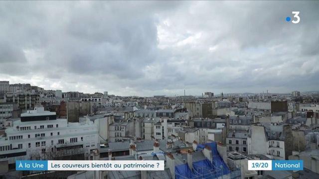 Artisanat : à la découverte des couvreurs-zingueurs de Paris