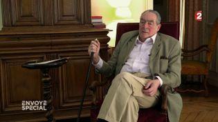 François Thual, trésorier de l'URS (Union républicaine du Sénat) (FRANCE 2 / FRANCETV INFO)
