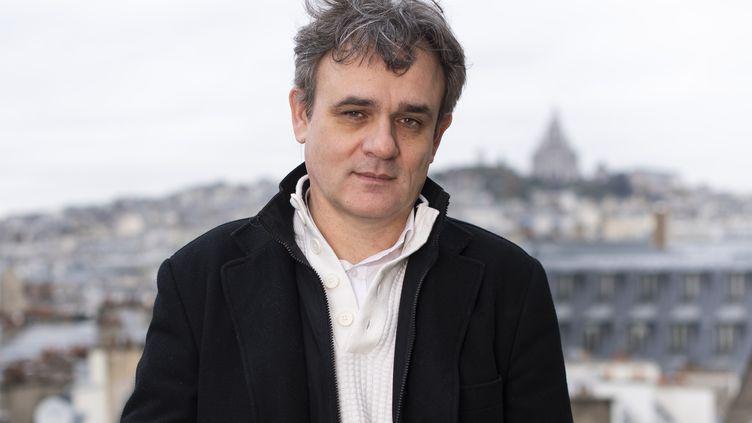 """Laurent Sourisseau (""""Riss""""), directeur de la publication de Charlie Hebdo, le 26 novembre 2019. (STEVEN WASSENAAR / HANS LUCAS)"""