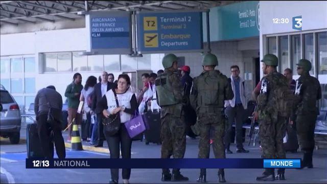 Brésil : À Rio, la sécurité monte d'un cran avant l'ouverture des Jeux
