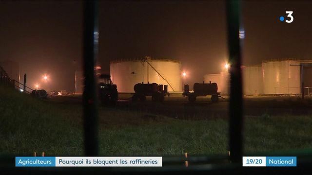 Raffineries : la raison de la colère des agriculteurs