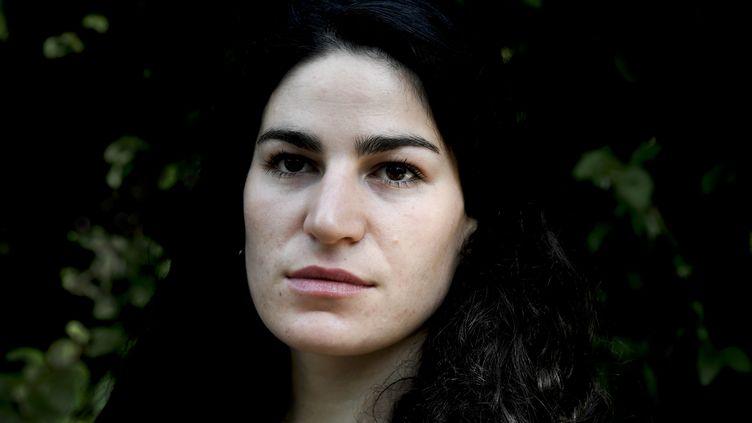 """Marie Laguerre fondatrice du site""""Nous Toutes Harcèlement"""" (ALAIN JOCARD / AFP)"""