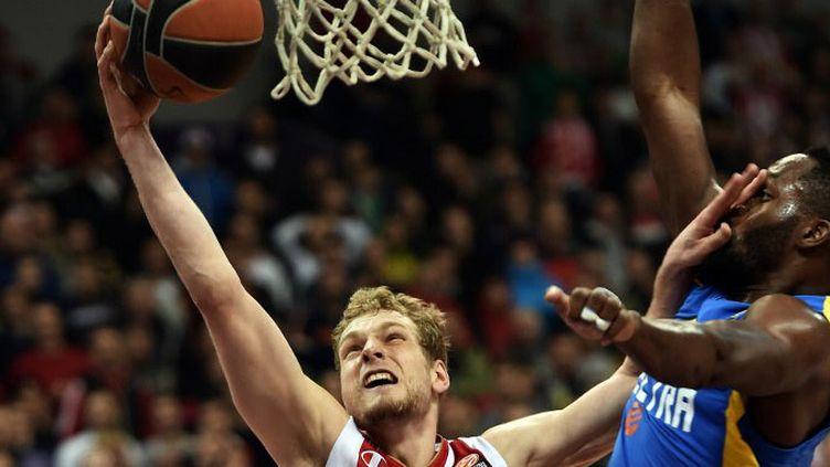 L'Etoile rouge de Belgrade a créé la surprise à Tel-Aviv (ANDREJ ISAKOVIC / AFP)