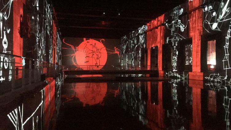 Trois expositions numériques occuperont les gigantesques murs des Bassins de Lumières (CAMILLE HUPPENOIRE / FRANCE-BLEU GIRONDE)
