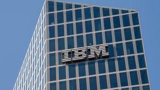 Le siège d'IBM en Allemagne, à Munich le 26 mars 2021 (PETER KNEFFEL / DPA)