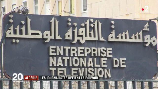 Algérie : les journalistes défient le pouvoir