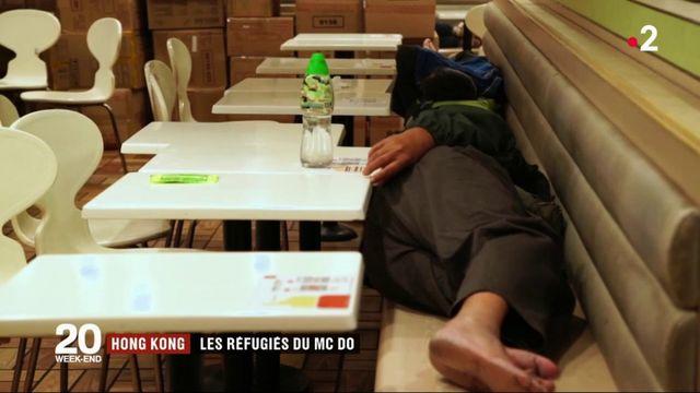 Hong Kong : à la rencontre des réfugiés du McDonald's
