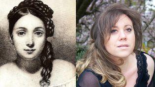 Portrait de Juliette Drouet et de Kareen Claire qui l'interprète  (DR)