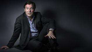 L'écrivain Jérôme Garcin à Paris, le 11 décembre 2015. (JOEL SAGET / AFP)