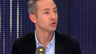 Ian Brossat, adjoint PCF à la mairie de Paris, était l'invité de franceinfo. (RADIO FRANCE)