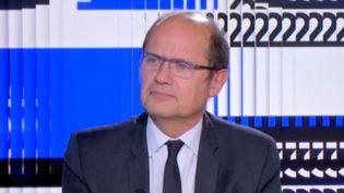Dominique Verdeilhan, journaliste sur France Télévision. (franceinfo)