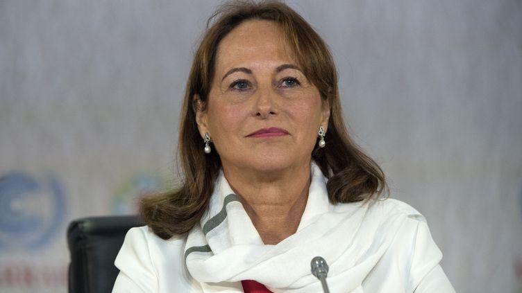 La ministre de l'Ecologie Ségolène Royal à Marrakech (Maroc), le 7 novembre 2016. (FADEL SENNA / AFP)