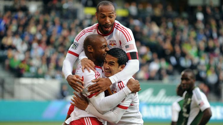 Thierry Henry et les New York Red Bulls