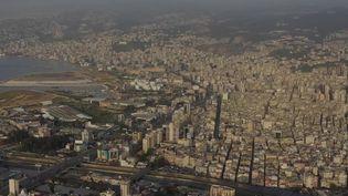 Vue aérienne du Liban. (CAPTURE ECRAN FRANCE 2)