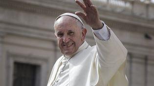 Le pape François au Vatican, le 27 septembre 2017. (GIUSEPPE CICCIA / AFP)