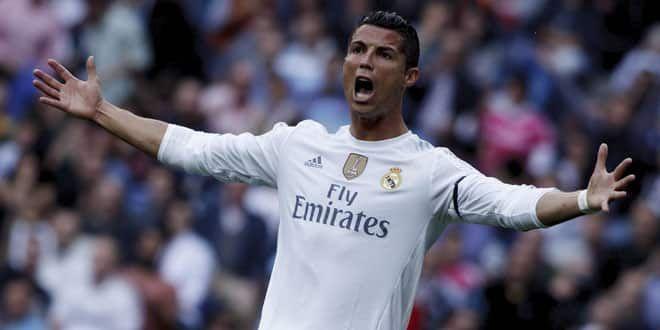 Le joueur du Real, Cristiano Ronaldo