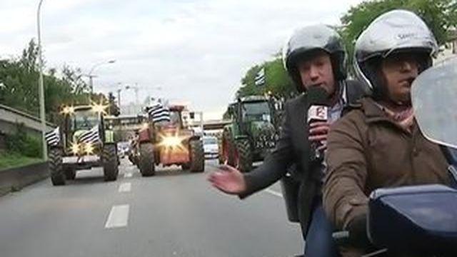 Les agriculteurs ont-ils tous quitté Paris ?