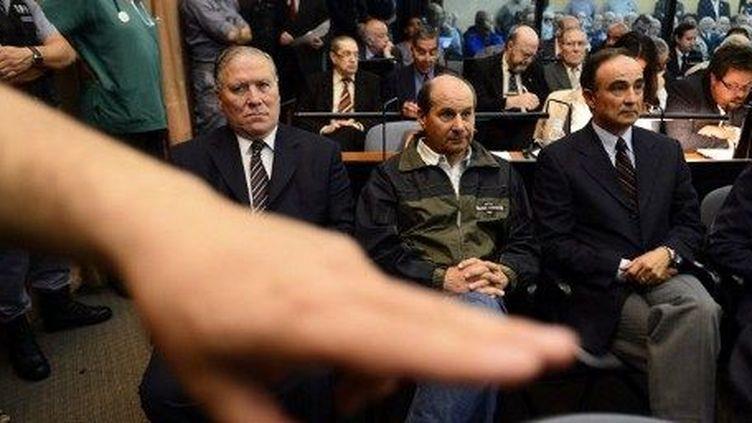 Le procès des «vols de la mort» lors de la dictature argentine s'est ouvert le 28 novembre 2012. (AFP/Daniel Garcia)