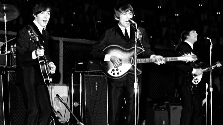 L'une des rares photographies du dernier concert des Beatles (29 août 1969)  (Capture d'image France3/Culturebox)