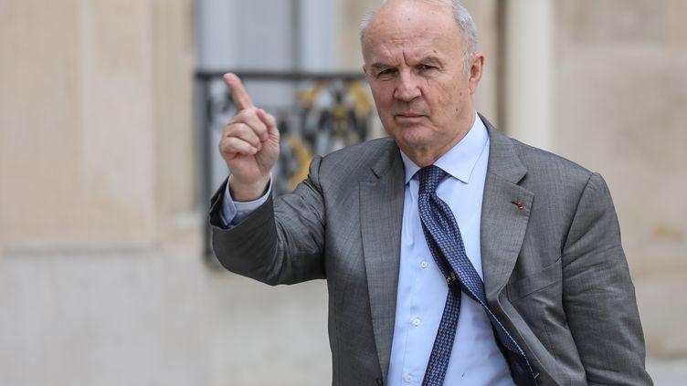 Le général Jean-Louis Georgelin, en charge de la reconstruction de Notre-Dame. (LUDOVIC MARIN / AFP)