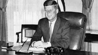 John Fitzgerald Kennedy, le 9 novembre 1960 à Washington (Etats-Unis). (AFP)
