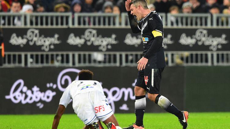 Le Bordelais Jérémy Toulalan frustré face à Strasbourg