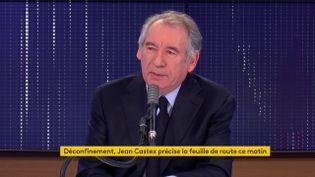 François Bayrou, Haut-Commissaire au Plan et président du MoDem, sur franceinfo, le 26 novembre 2020.   (FRANCEINFO / RADIO FRANCE)