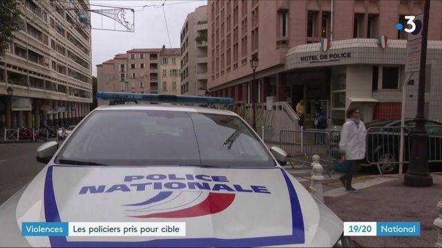 Violences : les policiers pris pour cible dans l'Hexagone