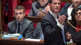 Manuel Vallsdevant les députés, à l'Assemblée nationale, le 10 mai 2016. (CHAMUSSY / SIPA)