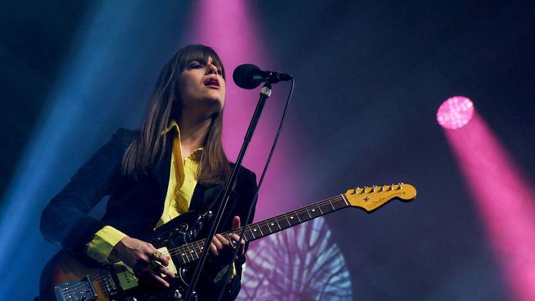 Clara Luciani en concert au Printemps de Bourges 2019 (GUILLAUME SOUVANT / AFP)