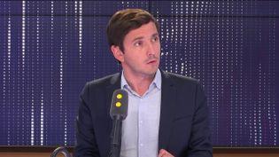 Le député de la majorité Aurélien Taché sur le plateau de franceinfo (archives). (FRANCEINFO)