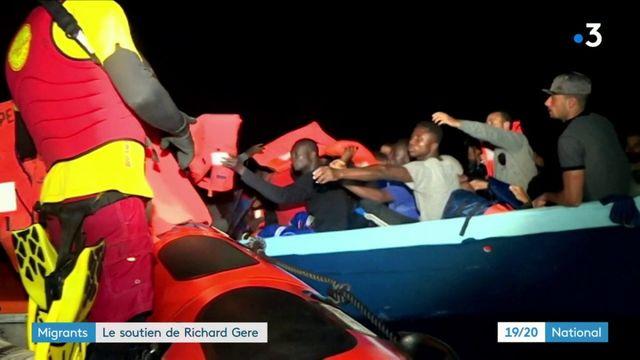 Migrants : le soutien de Richard Gere