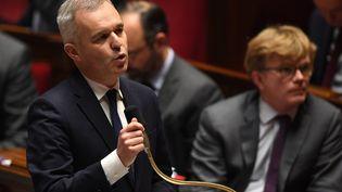 Le ministre de la Transition écologique, François de Rugy, le 23 janvier 2019 à Paris. (ERIC FEFERBERG / AFP)