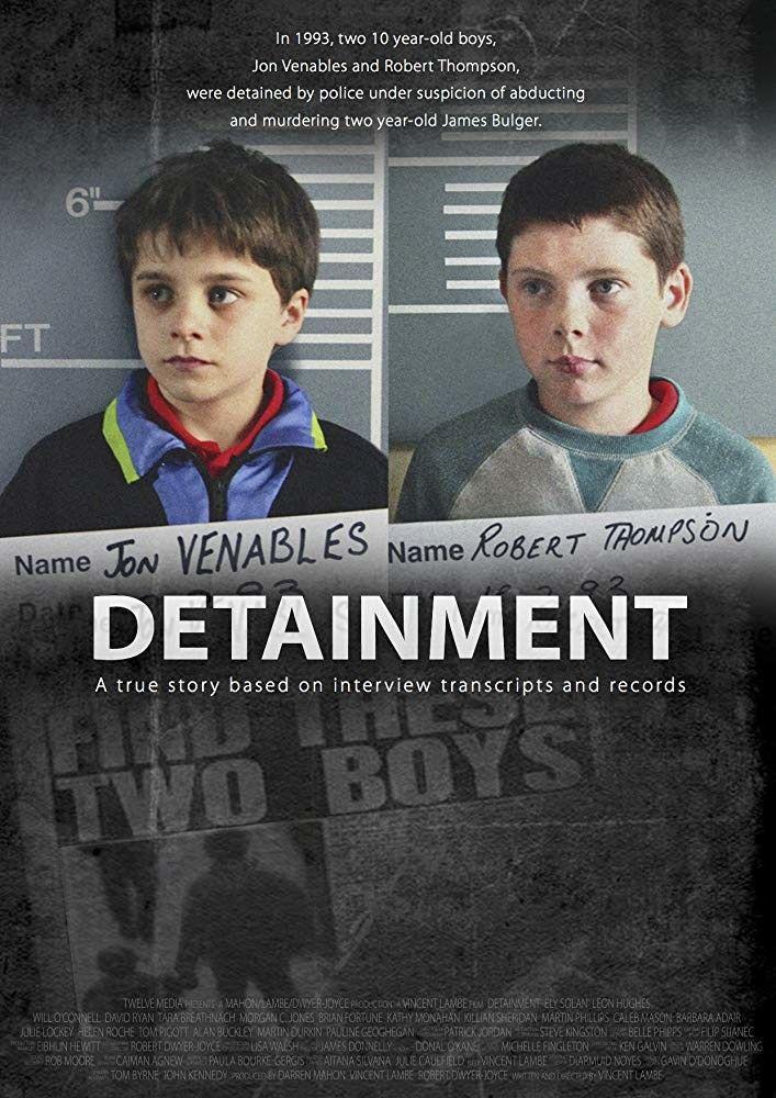 """Affiche de """"Detainment"""" par Vincent Lambe"""