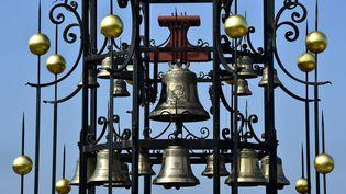 Le carillon du château Angelus à Saint-Emilion (Gironde). Photo d'illustration. (GEORGES GOBET / AFP)