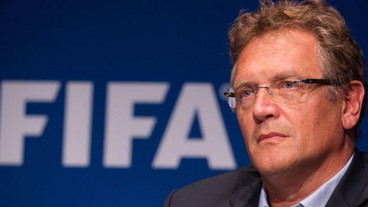 Le secrétaire général de la Fifa, Jérôme Valcke