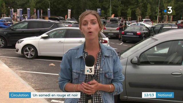 Départs en vacances : un samedi rouge et noir sur les routes de France