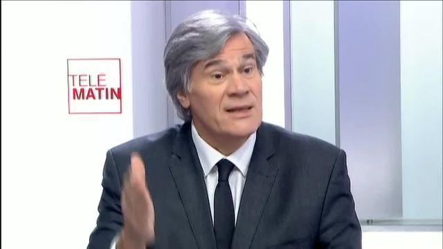 Stéphane Le Foll aux 4V sur la crise des éleveurs