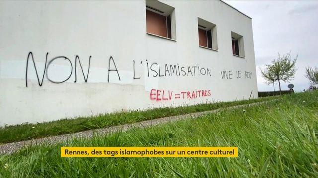 Rennes : un centre culturel visé par des tags islamophobes