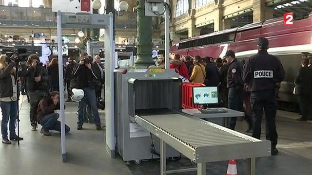 Thalys : les portiques de sécurité ont été inaugurés