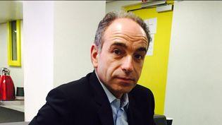 (Jean-François Copé en janvier 2016. © Jean-François Achilli / Radio France)