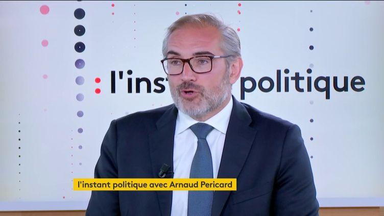 Arnaud Péricard, maire de Saint-Germain-en-Laye, le 4 juin 2019 (FRANCEINFO)