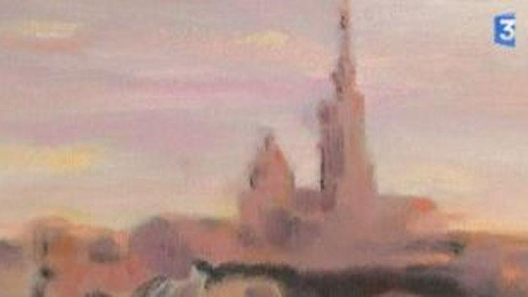 """""""Lever de soleil sur Marseille"""", une exposition de Zhou Shichao  (Culturebox)"""