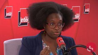 Sibeth Ndiaye, porte-parole du gouvernement. (RADIO FRANCE)