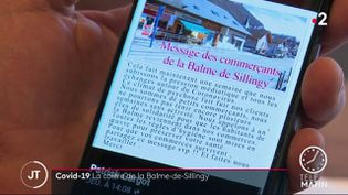Le cri d'alarme des commerçants de La Balme-de-Sillingy (Haute-Savoie) (FRANCE 2)