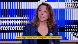 Sandra Regol (EELV) (FRANCEINFO)