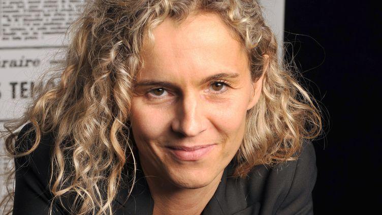 Delphine de Vigan est dans la première sélection du Goncourt  (MIGUEL MEDINA / AFP)