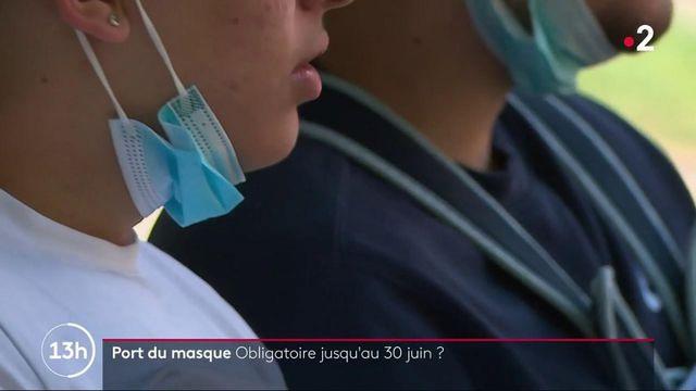 Port du masque obligatoire : déjà des assouplissements en attendant le 30 juin