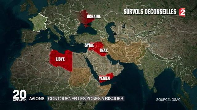 Air France et la Lufthansa ne vont plus survoler la zone du Sinaï